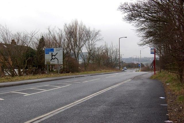 A643  Lindley Moor Road