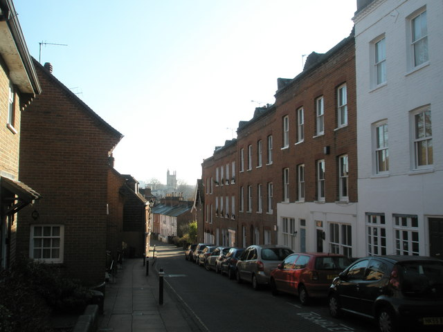 Looking down Canon Street