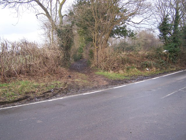 Bridleway on A227 Wrotham Road