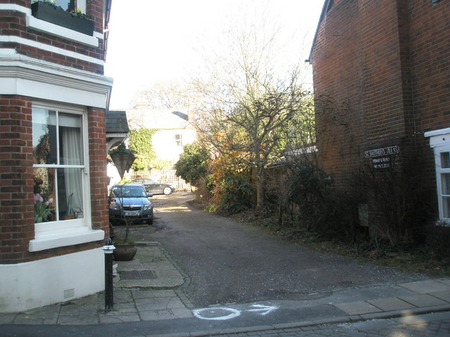Junction of St Swithuns Villas and Canon Street