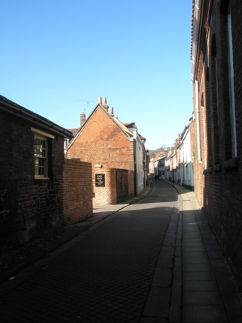Bottom end of Canon Street