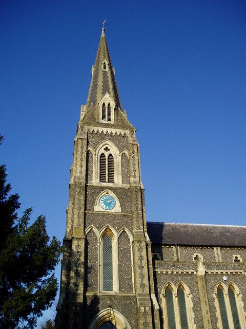 St. Mary's church spire