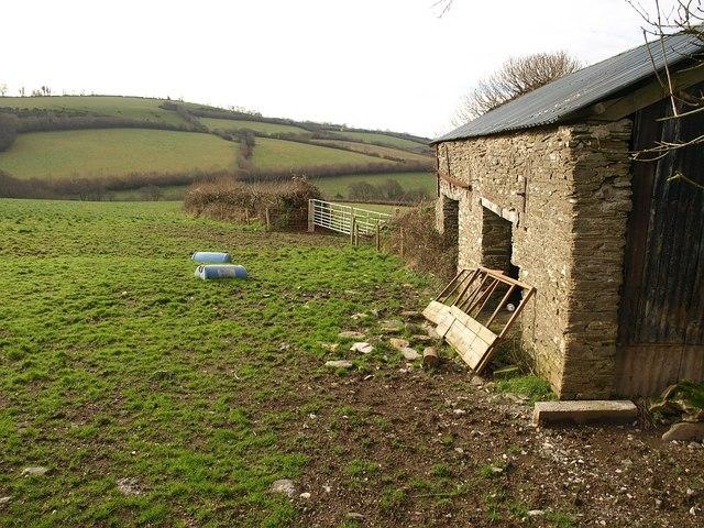 Barn near Hazard