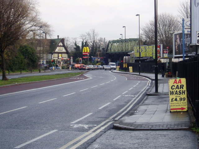 The Uxbridge Road, looking east