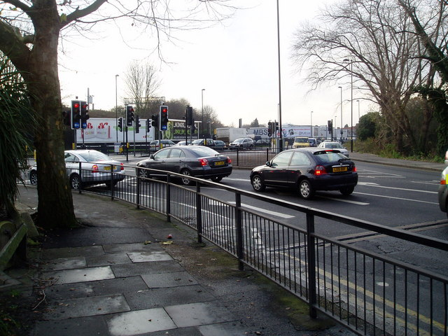 Junction of Greenford Road with the Uxbridge Road