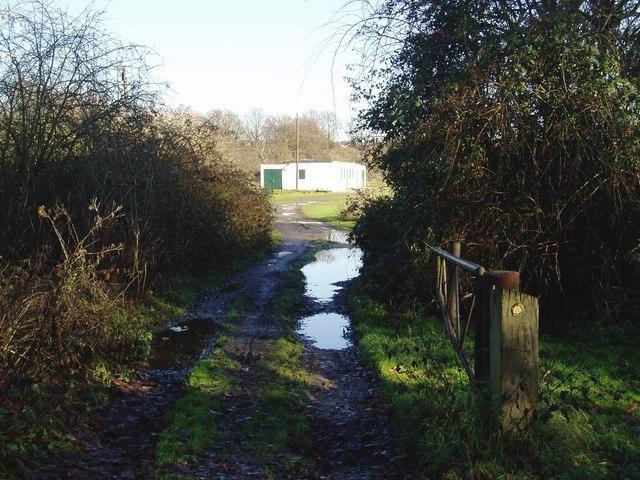 Hanwell Cricket Club pavilion