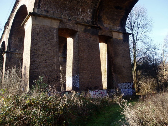 Wharncliffe Viaduct arches