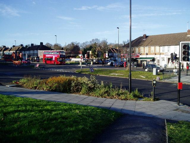 The Uxbridge Road adjacent to Ealing Hospital