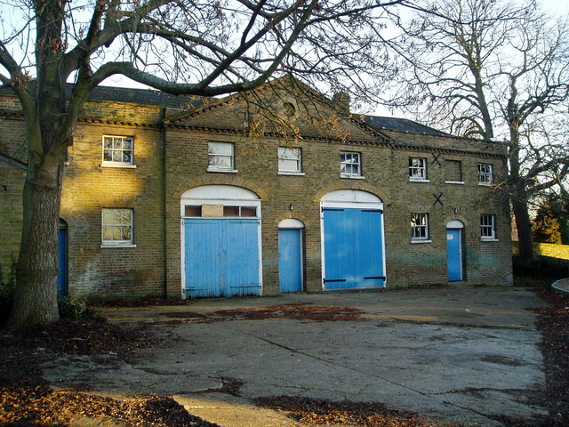 Former stable block belonging to Brent Lodge