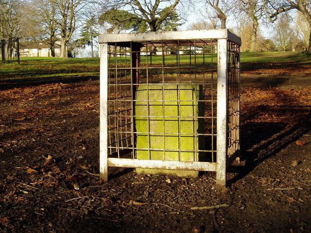 Glebe stone, Churchfields Recreation Ground