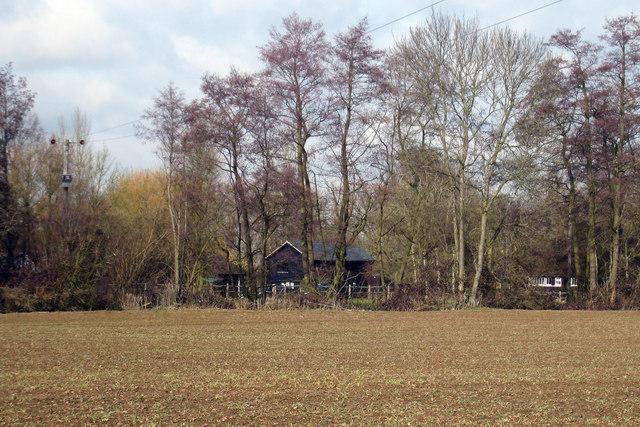 Oast House at Bardingley Farm, Babylon Lane, Hawkenbury, Sutton Valence, Kent