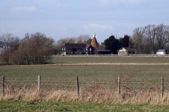 Kilmaney Oast, Staplehurst Road, Marden, Kent