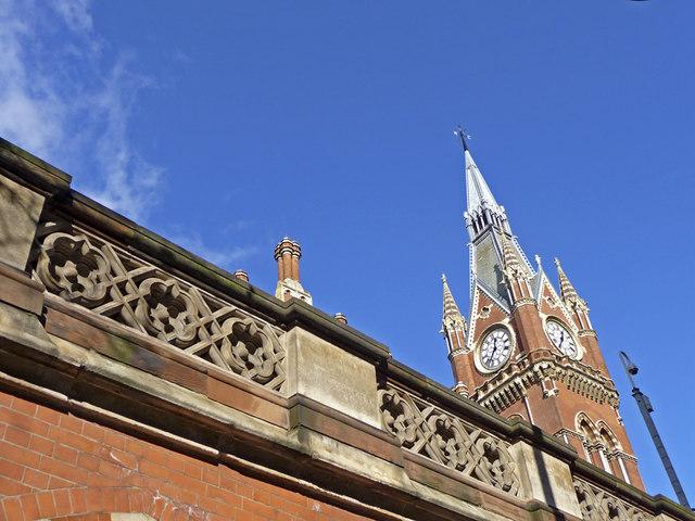 Clock Tower, St Pancras, London