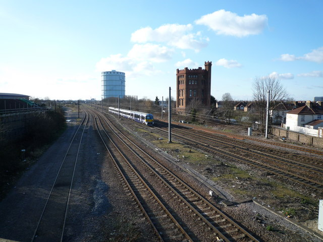 Southall  Gasometer & Water Towers
