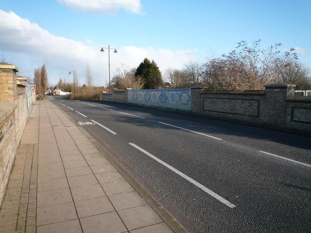 Bridge over Maypole Branch, Havelock Road