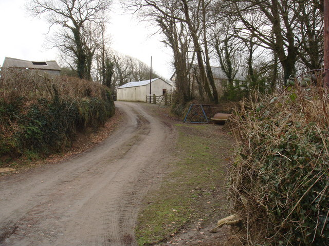 Farm at Forda, North Cornwall