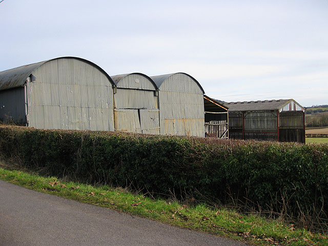 A collection of barns