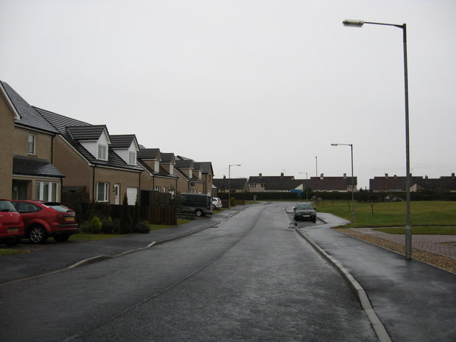 Newer housing in Duns