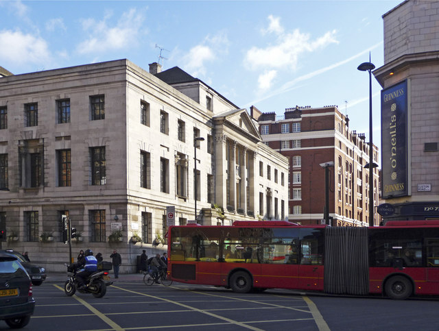 Junction of Euston Road and Judd Street, London WC1
