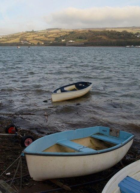 Boats at Ringmore