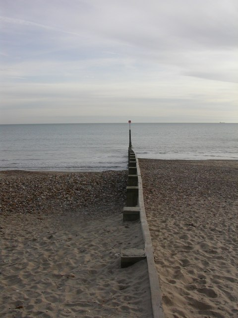 Bournemouth, groyne 17
