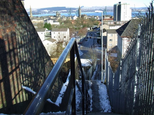 Dempster Street steps