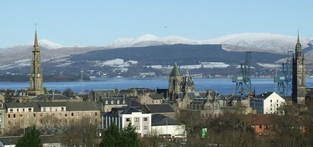 Greenock and the Clyde