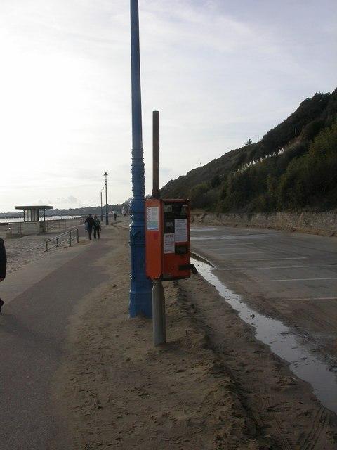 East Cliff, parking meter