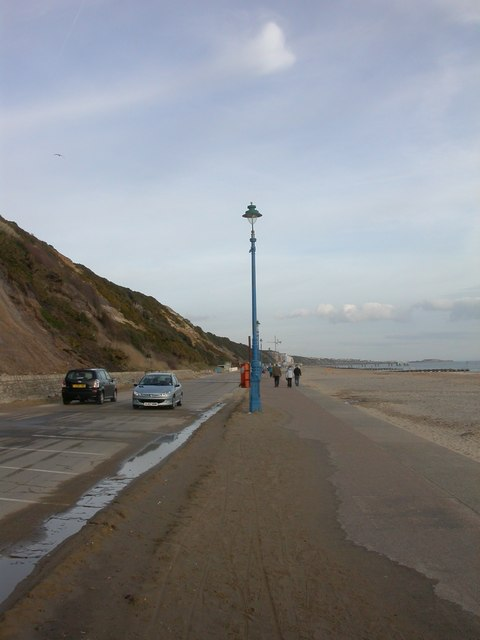 East Cliff, lamppost