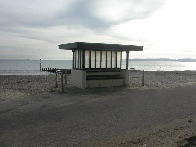 East Cliff, shelter
