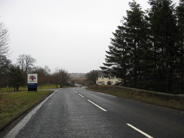 Nearing Newstead Farm