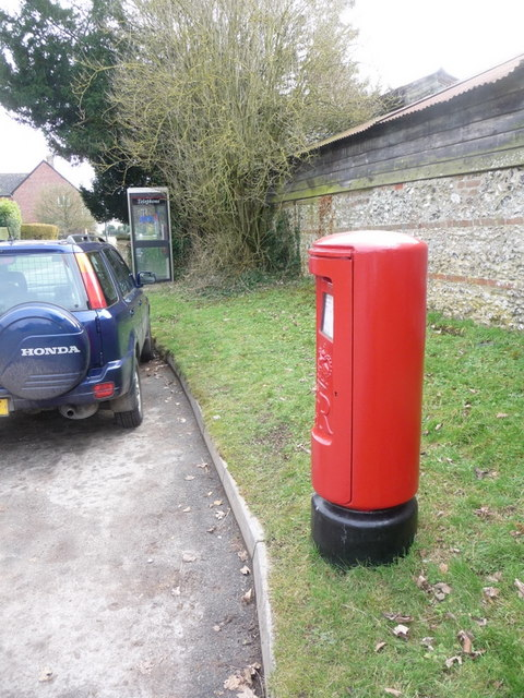 Martin: postbox № SP6 84 and phone