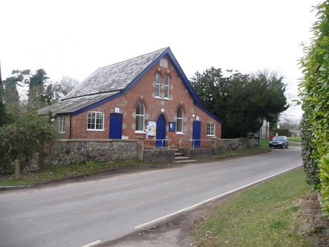 Martin: the village hall