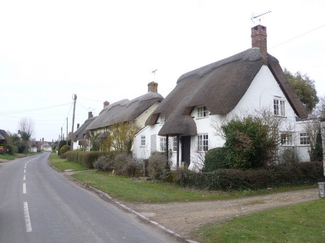 Martin: thatched cottages