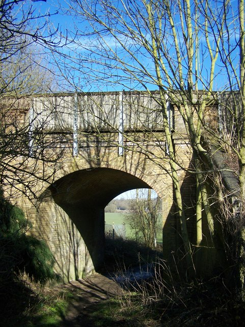Footpath under Railbridge