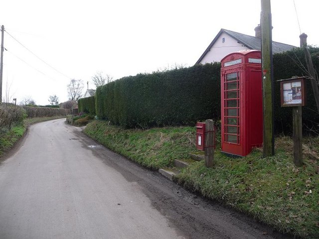 Deanland: postbox № SP5 93 and phone