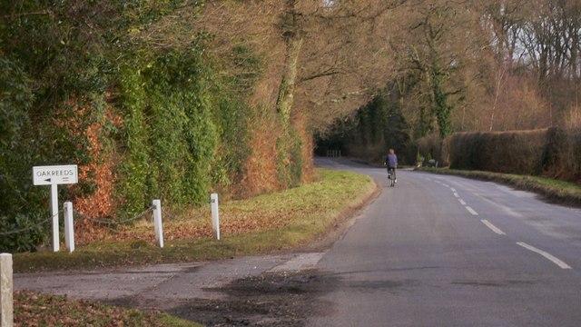 The road to Fernhurst from Elmers Marsh