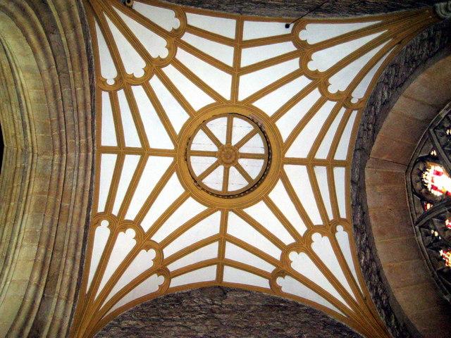 Fan vaulting - Parish church Bruton