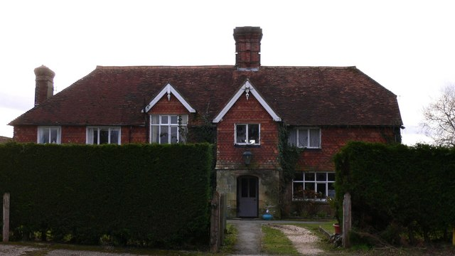The house at Lower Lodge Farm