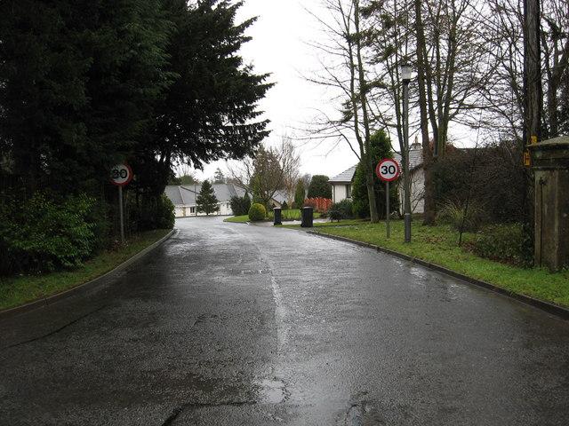 Woodlands housing estate