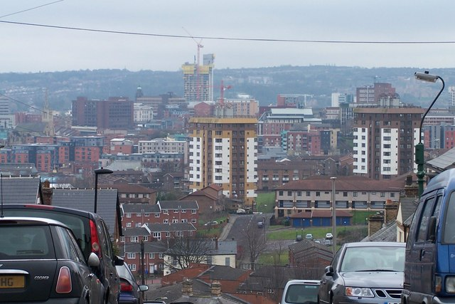 View From Blake Street, Sheffield