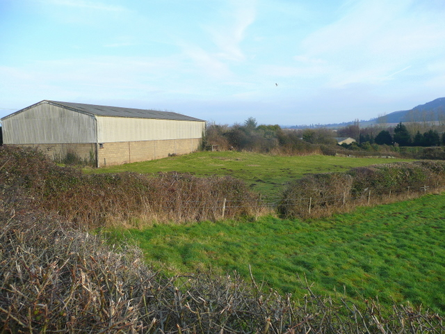 Farm building by Tanyard Lane