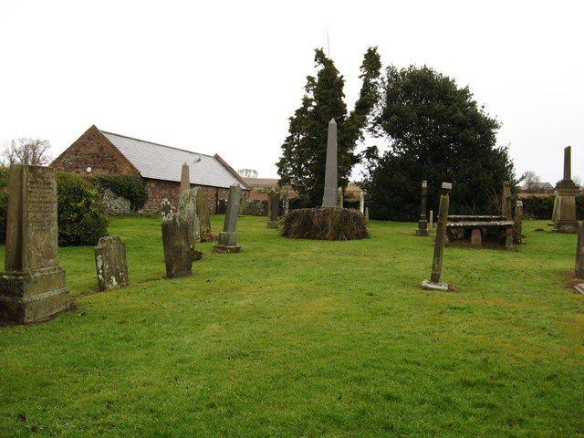 Old cemetery near Foulden Deans