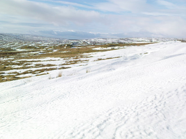 Snow Drifts above Fell End
