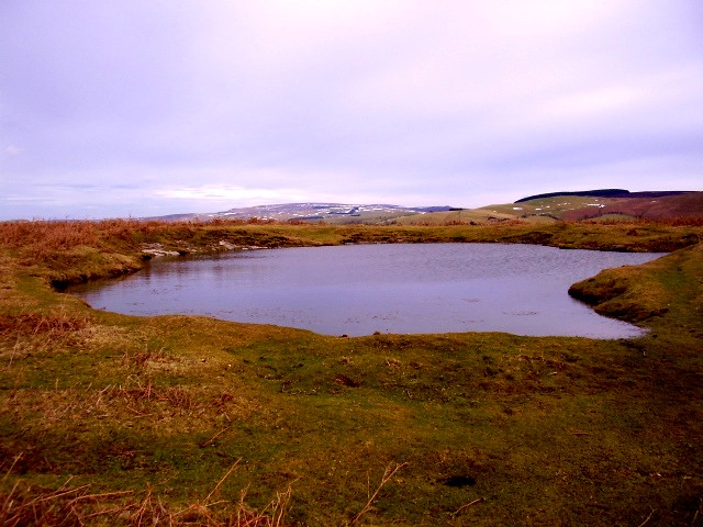 Moorland pool
