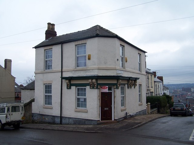 Former Shop and Off-Licence, Top of Blake Street, Walkley, Sheffield - February 2009