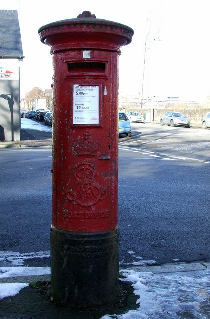 Pillar box in Adgowan Square