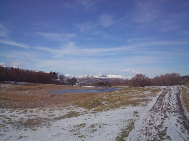 Wise Een Tarn in winter