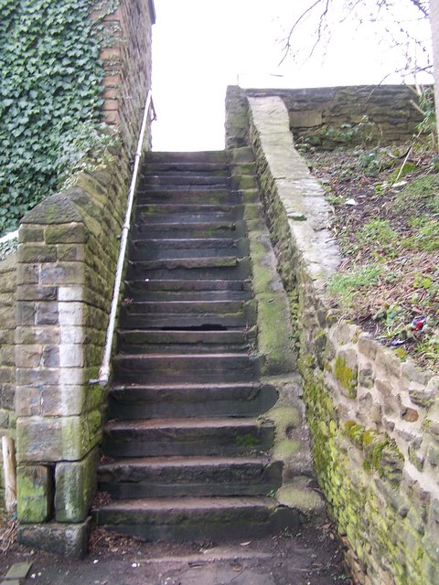 Steps, Fir Street, Sheffield
