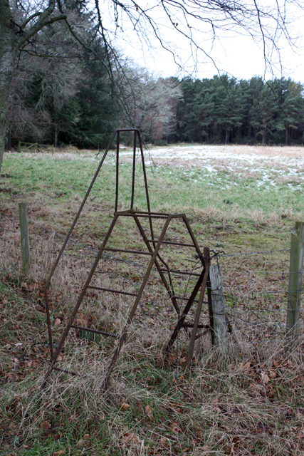 Metal Stile near Binsness